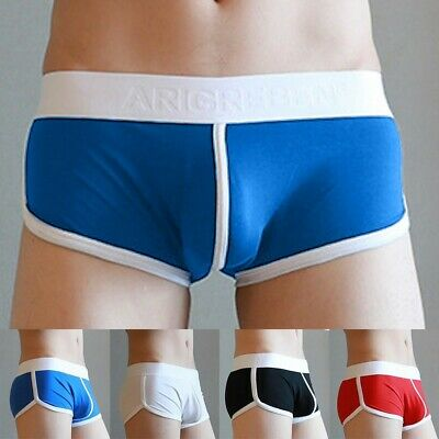 Loose Fit Boxer Briefs Homewear Underwear Low Rise Rich Funky Sexy Shorts • 6.21£