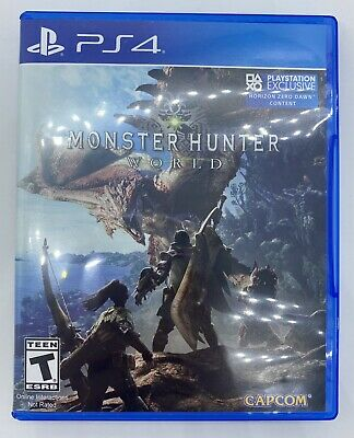 AU10.50 • Buy Monster Hunter: World (PS4, PlayStation 4, 2018)