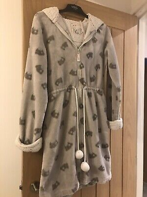 M&S Me To You Tatty Teddy Dressing Gown Size 8-10 • 5£