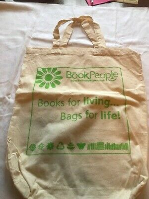 Book People Bag For Life - New • 1.50£