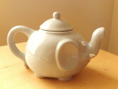 Vintage Novelty Ceramic Grey Elephant Teapot  • 4.99£