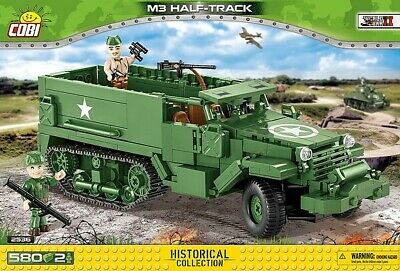 $50.89 • Buy COBI TOYS #2536 M3 Half- Track/ Armored Personal Carrier- New Factory Sealed!