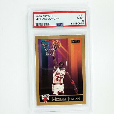$44.97 • Buy MICHAEL JORDAN 1990 Skybox Basketball / Golf #41 PSA 9 MINT Chicago Bulls