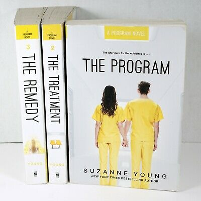 £10.89 • Buy Suzanne Young Lot The Program Trade Paperback Books 1 Thru 3 Treatment Remedy