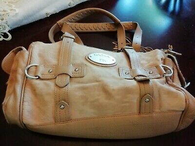 Betty Barclay, Light Tan Leather And Pony Skin Grab Bag • 20£