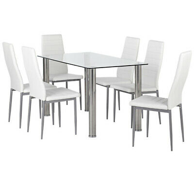 AU150 • Buy Dining Table And Chairs - 7 Piece Setting