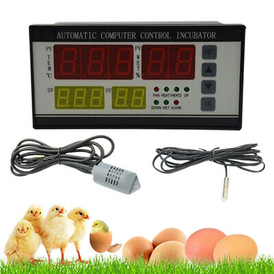 AU57.77 • Buy Industrial Automatic Egg Turning Controller Incubator Humidity Temperature Probe