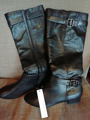 £30 • Buy BNWT Red Herring Black Knee Height Boots Size 7