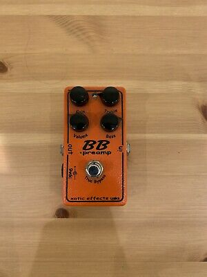 Xotic Effects BB Preamp Pedal - Amazing Transparent Tone - Overdrive Pedal • 72£