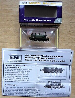 LIMITED EDITION DAPOL 'n' Gauge GWR TERRIER No.5 'PORTISHEAD' BOXED LOCO. • 156.51£