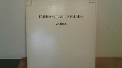 EMERSON, LAKE, AND PALMER -  THE WORKS   1977  USA IMPORT  12 INCH VINYL ALBUM O • 10£