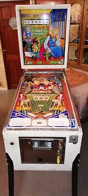 Vintage 1978 Pinball Machine Queen's Castle Coin Operated Not Fruit Machine  • 460£