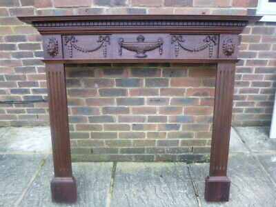 Wooden Mahogany Fire Surround Collection East Sussex • 50£