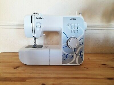 Brother AE1700 Manual Stitch Twin Needle Capable Sewing Machine - White (Used) • 64£