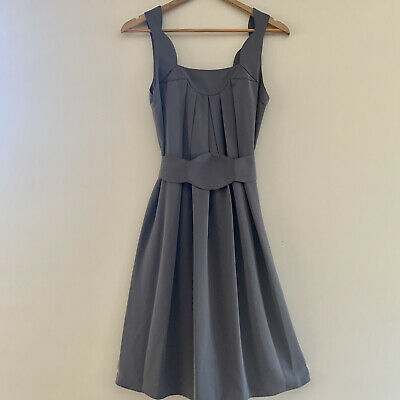 AU68 • Buy Zimmerman Grey Scalloped Dress Size 0 (6-8)