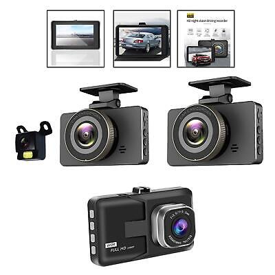 AU25.46 • Buy Dual Dash Cam For Cars Front And Rear With Night Vision 1080P HD Mini In Car