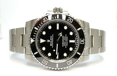 ROLEX Submariner Non Date 114060 2018 Box & Papers MINT • 9,495£