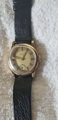 Vintage Elgin Watch Art Deco 1920s 1930s Round Two Tone Dial • 87.70£