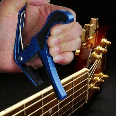 $ CDN8.83 • Buy Single-handed Quick Change Tune Clamp Trigger Capo For Acoustic Electric Guitar