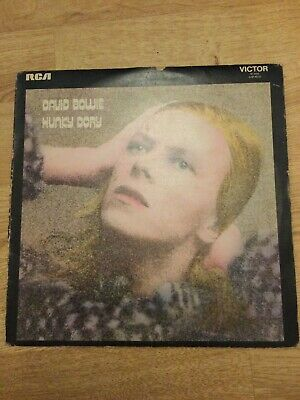 David Bowie Hunky Dory RCA SF8244 LP Album 1971. Vinyl In VG Condition • 8.50£