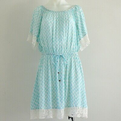 AU35 • Buy Tigerlily Blue Lace Mini Dress Size 14
