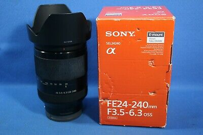 $ CDN694.58 • Buy Sony FE 24-240mm F3.5-6.3 OSS Telephoto Zoom Lens SEL24240 Nex A7 A7s A7R III