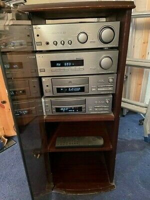 Sony TA-S2 Integrated Amplifier With CD Player, Cassette Player And Tuner. • 75£