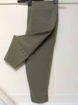 Bon Marche Size 18 Crop Trousers In Light Khaki Pre Owned Good Condition • 2.99£