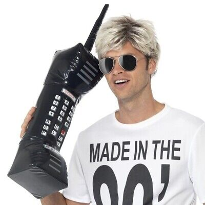 AU18.75 • Buy Inflatable Brick Cell Phone Retro Mobile Costume Prop Accessory 80's Zack Morris