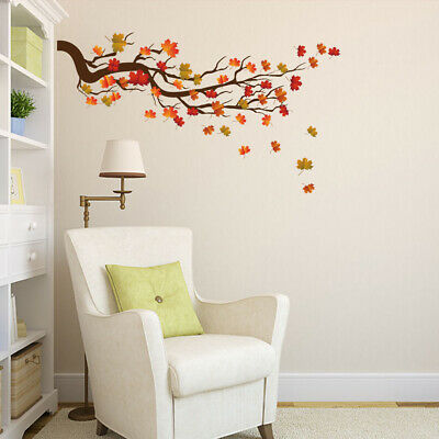 Home Tree Branch Wall Stickers Removable Vinyl Decal Plant Sticker Mural Decor • 5.25£