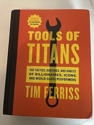 AU13.90 • Buy Tools Of Titans: The Tactics, Routines, And Habits Of Billionaires, Icons, And W