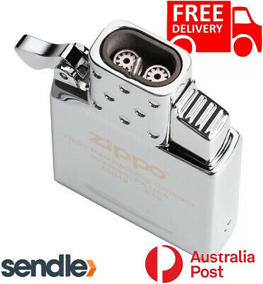 AU55 • Buy GENUINE ZIPPO Butane Lighter Insert Double Torch Jet - Aussie Shipment
