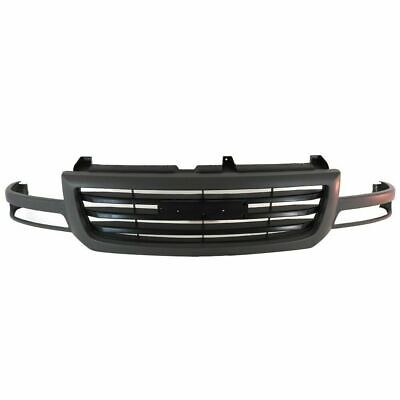 $107.67 • Buy Front Grille Black 1500,2500LD Fits 2003 2004 2005 2006 2007 GMC Sierra