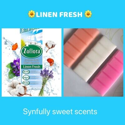 BESTSELLER Fresh Linen Scented Wax Melts. Zoflora Clean Home Scents • 1.55£