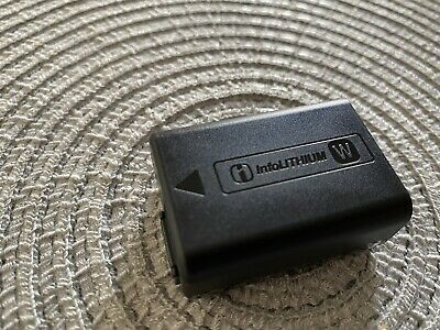Sony NP-FW50 Official Battery For Sony A6000 6400  A7 A7ii  (used But Good) • 22£