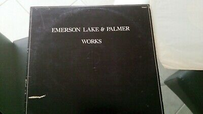 Emerson Lake And Palmer The Works Double Vinyl Album Volume 1 • 2.99£