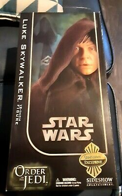Sideshow Collectables Star Wars Luke Skywalker Jedi Knight Exclusive 1:6 • 54.99£