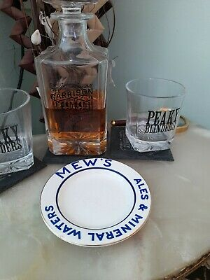 Vintage Mew's Ales & Mineral Water Ceramic Ashtray  • 5.99£
