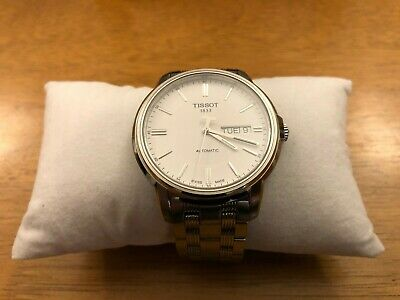 Tissot Automatic Watch  Day Date White Dial  Automatics III  PERFECT CONDITION  • 180£