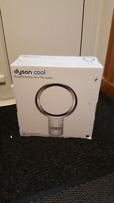 Dyson AM06 12  Desk Fan - White/Silver • 215£