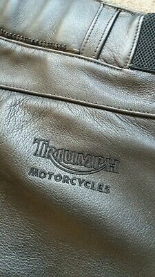 Triumph Leather Motorcycle Trousers 28w  • 50£