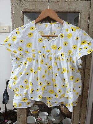 AU22.50 • Buy Gorgeous Sunflower Zara Top Size XS /8