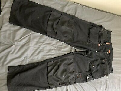 Scruffs Trade Trousers, Size 38 - Black (used) • 15.90£