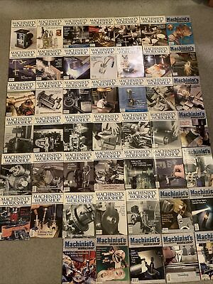 $147 • Buy Machinist's Workshop Magazine Huge Lot Of 47 Back Issues EXCELLENT CONDITION