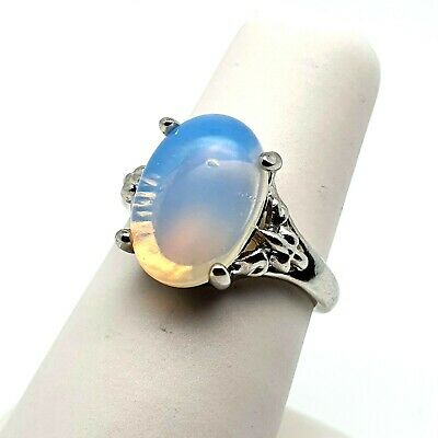 Oval Opal Ring Choose Your Size • 8.95£