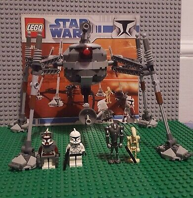 LEGO Star Wars Separatist Spider Droid 100% Complete With Instructions 7681 • 60£