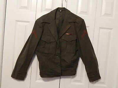 $25 • Buy WW2 U.S. Marine Corps IKE Type Jacket