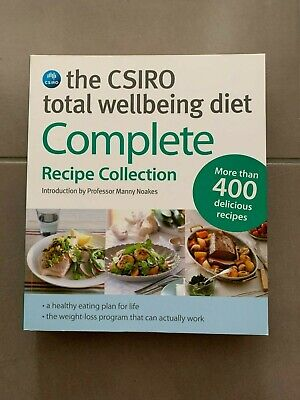 AU32 • Buy The CSIRO Total Wellbeing Diet: Complete Recipe Collection By Dr Manny Noakes