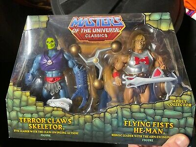 $94 • Buy Masters Of The Universe Classics 2 Pack Rare Heman And Skeletor Claw