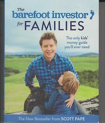 AU8.55 • Buy The Barefoot Investor For Families By Scott Pape LIKE NEW CONDITION